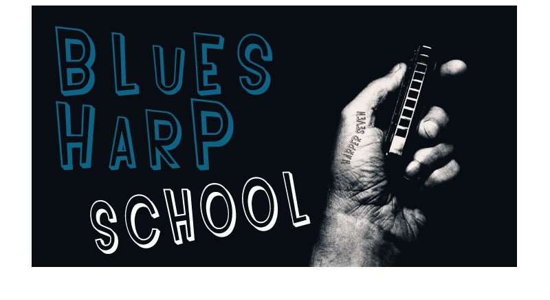 Harper Seven Blues Harp School